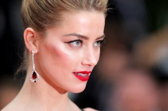"""CANNES, FRANCE - MAY 10:  Actress Amber Heard attends the screening of """"Sorry Angel (Plaire, Aimer Et Courir Vite)"""" during the 71st annual Cannes Film Festival at Palais des Festivals on May 10, 2018 in Cannes, France.  (Photo by Andreas Rentz/Getty Images)"""