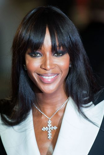 LONDON, ENGLAND - OCTOBER 23: Naomi Campbell attends the Royal World Premiere of 'Skyfall' at the Royal Albert Hall on October 23, 2012 in London, England. (Photo by Samir Hussein/Getty Images)