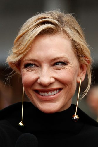 SYDNEY, AUSTRALIA - DECEMBER 09:  Cate Blanchett arrives ahead of the 5th AACTA Awards Presented by Presto at The Star on December 9, 2015 in Sydney, Australia.  (Photo by Brendon Thorne/Getty Images for AFI)