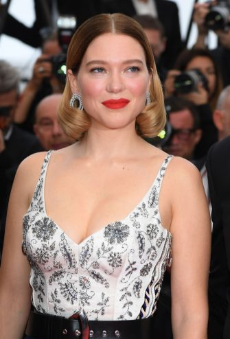 """CANNES, FRANCE - MAY 22: Lea Seydoux attends the screening of """"Oh Mercy! (Roubaix, une Lumiere)"""" during the 72nd annual Cannes Film Festival on May 22, 2019 in Cannes, France. (Photo by Pascal Le Segretain/Getty Images)"""