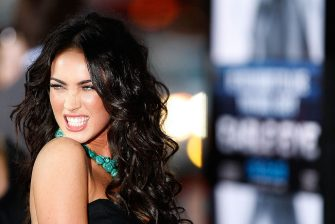 """LOS ANGELES, CA - SEPTEMBER 16:  Actress Megan Fox arrives at the premiere of Dreamworks' """"Eagle Eye"""" at the Mann Chinese Theater on September 16, 2008 in Los Angeles, California.  (Photo by Michael Buckner/Getty Images)"""