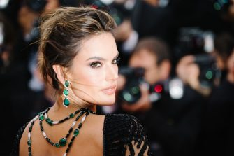 """CANNES, FRANCE - MAY 14: Model Alessandra Ambrosio attends the screening of """"BlacKkKlansman"""" during the 71st annual Cannes Film Festival at Palais des Festivals on May 14, 2018 in Cannes, France.  (Photo by Emma McIntyre/Getty Images)"""
