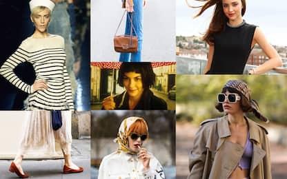 Moda, dal basco al trench, i capi iconici dello stile francese. FOTO