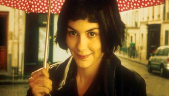 Nov 06, 2001; Hollywood, California, USA; Actress AUDREY TAUTOU as Amélie Poulain in the german movie 'Amélie' directed by Jean-Pierre Jeunet. Mandatory Credit: Photo by Miramax Zoë/ZUMA Press. (©) Copyright 2001 by Courtesy of Miramax Zoë