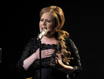 LOS ANGELES, CA - AUGUST 28:  Singer Adele performs onstage during the 2011 MTV Video Music Awards at Nokia Theatre L.A. LIVE on August 28, 2011 in Los Angeles, California.  (Photo by Kevin Winter/Getty Images)