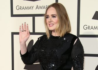 LOS ANGELES, CA - FEBRUARY 15: Singer Adele attends The 58th GRAMMY Awards at Staples Center on February 15, 2016 in Los Angeles, California. (Photo by Dan MacMedan/WireImage)
