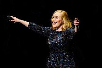 BERLIN, GERMANY - MAY 07:  Singer Adele performs live on stage during a concert at Mercedes-Benz Arena on May 07, 2016 in Berlin, Germany.  (Photo by Stefan Hoederath/Getty Images for September Management)