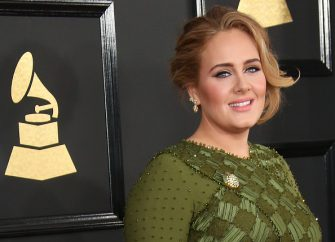 LOS ANGELES, CA - FEBRUARY 12: Singer Adele arrives at The 59th GRAMMY Awards at Staples Center on February 12, 2017 in Los Angeles, California. (Photo by Dan MacMedan/WireImage)