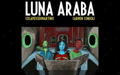 """Colapesce e Dimartino, la canzone """"Luna Araba"""" con Carmen Consoli"""