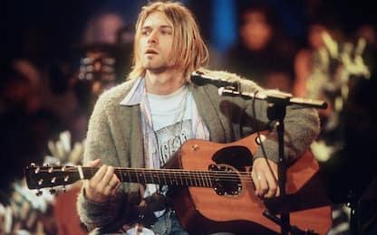 Kurt Cobain, all'asta la chitarra usata per Unplugged
