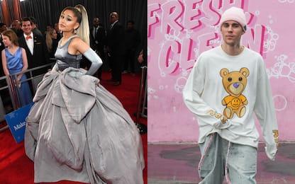 Coronavirus, Ariana Grande e Justin Bieber: in vendita il loro singolo