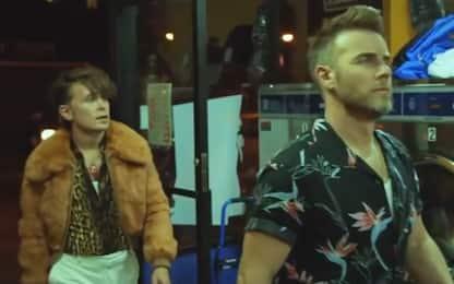 Robbie Williams annuncia la reunion con i Take That