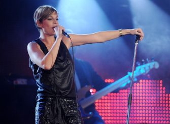 MILAN, ITALY - NOVEMBER 29:  Singer Emma performs live during RadioItaliaLive held at Radio Italia Studios on November 29, 2011 in Milan, Italy.  (Photo by Stefania D'Alessandro/Getty Images)