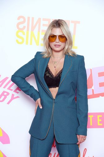 VERONA, ITALY - JULY 24:  Singer Emma Marrone attends Tezenis show on July 24, 2018 in Verona, Italy.  (Photo by Daniele Venturelli/Daniele Venturelli/Getty Images)