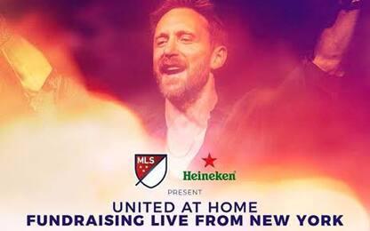 David Guetta, live stream da Ney York di raccolta fondi United At Home