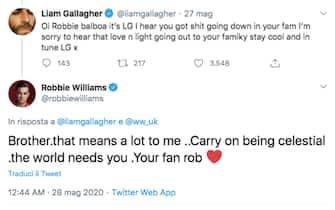 robbie williams noel gallagher