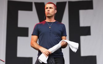 XXXXXXXXXX performs live for fans during the 2014 Big Day Out Festival on January 26, 2014 in Sydney, Australia.