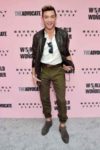 LOS ANGELES, CALIFORNIA - JUNE 22: Chris Trousdale attends Beverly Center x The Advocate x World of Wonder Pride Event at Beverly Center on June 22, 2019 in Los Angeles, California. (Photo by Stefanie Keenan/Getty Images for Beverly Center)