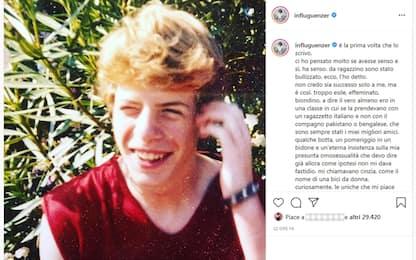 """Lodo Guenzi su Instagram: """"Da ragazzino mi hanno bullizzato"""""""