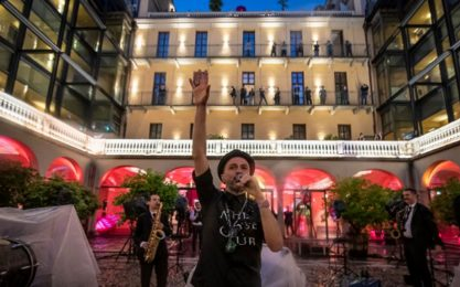 Samuel torna live con l'orchestra Bandakadabra