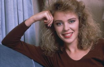 Australian pop singer Kylie Minogue, 1988. (Photo by Dave Hogan/Hulton Archive/Getty Images)