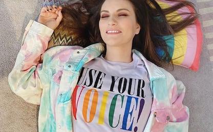 """Pride, Laura Pausini: """"Amiamo chi vogliamo"""""""