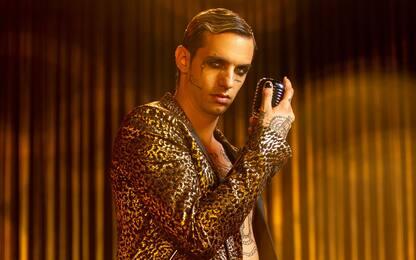 Achille Lauro, fuori il video di Bam Bam Twist: un ballo glitter
