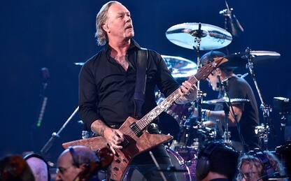 Metallica, online il video completo del concerto a Lisbona nel 2007