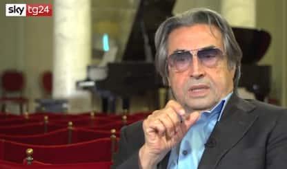 """Riccardo Muti: """"Grande emozione tornare in teatro dopo il lockdown"""""""