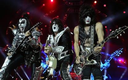 Kiss in concerto all'Arena di Verona nel 2021