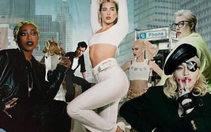 Madonna mostra la cover del nuovo album di Dua Lipa