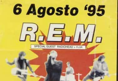 25 anni fa la notte più bella di Catania: REM e Radiohead al Cibali