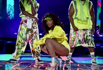 NEW YORK, NEW YORK - AUGUST 30: Keke Palmer performs during the 2020 MTV Video Music Awards at the Skyline Drive-In, broadcast on Sunday, August 30, 2020 in New York City. (Photo by Jeff Kravitz/MTV VMAs 2020/Getty Images for MTV)