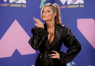 UNSPECIFIED - AUGUST 2020: Bebe Rexha attends the 2020 MTV Video Music Awards, broadcast on Sunday, August 30th 2020. (Photo by Rich Fury/MTV VMAs 2020/Getty Images for MTV)