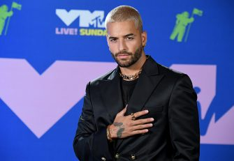 NEW YORK, NEW YORK - AUGUST 30: Maluma attends the 2020 MTV Video Music Awards, broadcast on Sunday, August 30, 2020 in New York City. (Photo by Jeff Kravitz/MTV VMAs 2020/Getty Images for MTV)