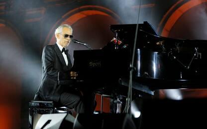 Andrea Bocelli inaugura l'Accademia della Musica di Camerino