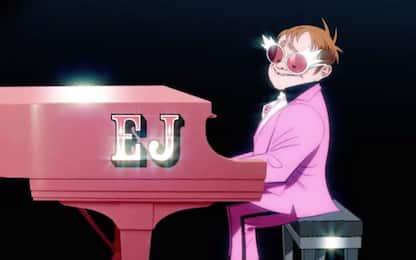 Gorillaz, è uscito il video del brano The Pink Phantom con Elton John