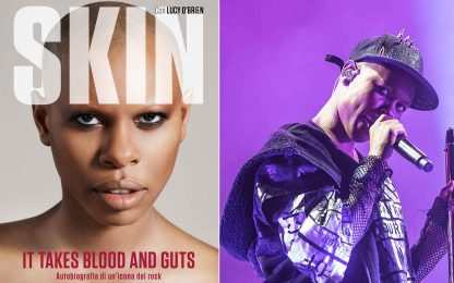 "Skin si racconta nell'autobiografia ""It takes blood and guts"""