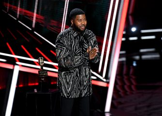 HOLLYWOOD, CALIFORNIA - OCTOBER 14: In this image released on October 14, Khalid accepts the Top R&B Artist Award onstage at the 2020 Billboard Music Awards, broadcast on October 14, 2020 at the Dolby Theatre in Los Angeles, CA.  (Photo by Kevin Winter/BBMA2020/Getty Images for dcp)