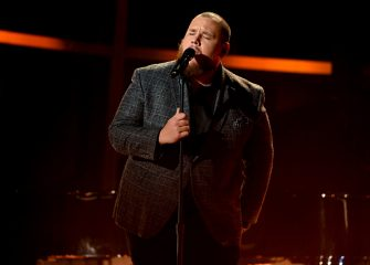 HOLLYWOOD, CALIFORNIA - OCTOBER 14: In this image released on October 14, Luke Combs performs onstage at the 2020 Billboard Music Awards, broadcast on October 14, 2020 at the Dolby Theatre in Los Angeles, CA.  (Photo by Kevin Winter/BBMA2020/Getty Images for dcp)