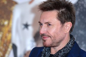 LONDON, ENGLAND - FEBRUARY 24: (EDITORIAL USE ONLY)  Simon Le Bon attends the BRIT Awards 2016 at The O2 Arena on February 24, 2016 in London, England.  (Photo by Anthony Harvey/Getty Images)