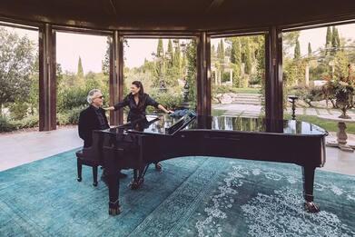 Andrea Bocelli testo e video di Pianissimo, duetto con Cecilia Bartoli