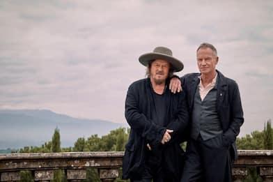 Sting e Zucchero, un duetto e tanta voglia di superare l'isolamento