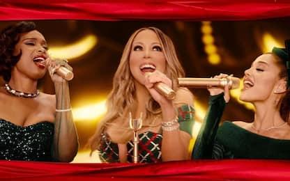 Oh Santa remix natalizio: Mariah Carey,Ariana Grande e Jennifer Hudson