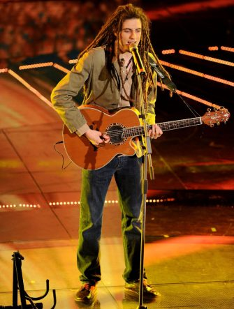 Anansi attends the 61th Sanremo Song Festival at the Ariston Theatre on February 16, 2011 in San Remo, Italy. *** Local Caption ***
