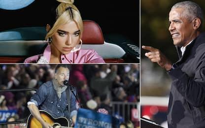 Barack Obama, le canzoni preferite del 2020 dell'ex presidente