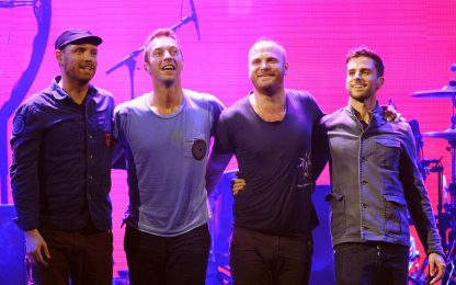 I Coldplay  annunciano il nuovo singolo Higher Power