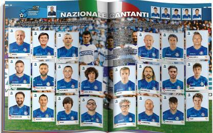 Album calciatori Panini, ecco la Nazionale cantanti
