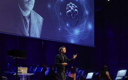Beethoven e i buchi neri, la musica dialoga con le stelle in streaming