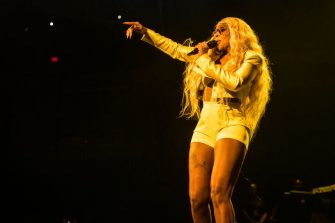 INDIANAPOLIS, INDIANA - SEPTEMBER 12: Mary J. Blige performs at Bankers Life Fieldhouse on September 12, 2019 in Indianapolis, Indiana.   (Photo by Keith Griner/Getty Images)